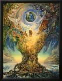 Tree Of Peace Print by Josephine Wall