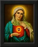 Sacred Heart of Mary Poster