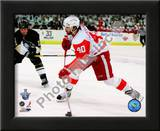 Henrik Zetterberg, Game 4 Action of the 2008 NHL Stanley Cup Finals Print