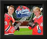 Jonathan Toews & Patrick Kane 2009 NHL Winter Classic Promotion Posters