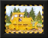 Bulldozer Posters by Marnie Bishop Elmer