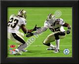 Reggie Bush & Pierre Thomas Super Bowl XLIV Celebration Poster