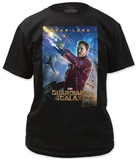 Guardians of the Galaxy - Star-Lord T-shirts