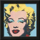 Marilyn, c.1967 (on blue ground) Posters by Andy Warhol