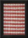 One Hundred Cans, 1962 Print by Andy Warhol