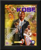 Kobe Bryant 2008 MVP Portrait Plus; LA Lakers Posters