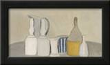 Still Life of Bottles and Pitcher, 1946 Prints by Giorgio Morandi