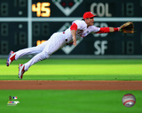 Chase Utley 2014 Action Photo