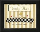 The Family Table Prints by Dan Dipaolo