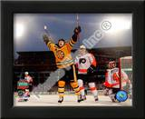 Marco Sturm Game Winning Goal Horizontal 2010 NHL Winter Classic Posters