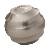 Silver Wave Ball - Sm Home Accessories