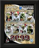 2009 New Orleans Saints NFC South ChampionsTeam Prints