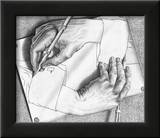 Drawing Hands Prints by M. C. Escher