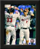 Joe Mauer & Justin Morneau 2010 Poster