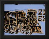 Train, c.1983 Print by Andy Warhol