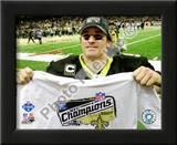 Drew Brees 2009 NFC Championship Game Prints