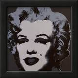 Marilyn Monroe, 1967 (black) Print by Andy Warhol