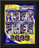 2009 Minnesota Vikings NFC West Divison Champions Prints