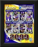 2009 Minnesota Vikings NFC West Divison Champions Prints