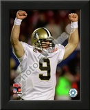 Drew Brees Super Bowl XLIV Art