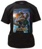 Guardians of the Galaxy - Rocket and Groot T-shirts