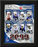 2009 Indianapolis Colts AFC Champions Team Posters