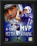 Peyton Manning 4 X MVP Portrait Plus Prints