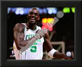 Kevin Garnett, Game 2 of the 2008 NBA Finals; Celebration 5 Print