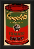 Campbell's Soup Can, 1965 (Green and Red) Posters by Andy Warhol