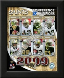 2009 New Orleans Saints NFC Champions Posters