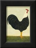 Rooster Facing East Prints by Warren Kimble