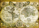 World Map - Historical Prints