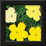 Flowers, c.1970 (Yellow) Posters by Andy Warhol
