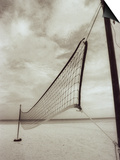 Volleyball Net on the Beach, Cancun, Mexico Prints by D. Robert Franz