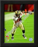 Pierre Thomas Super Bowl XLIV Art