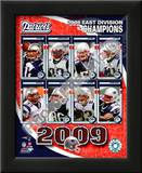 2009 New England Patriots AFC East Divison Champions Print