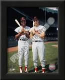 Frank Robinson and Brooks Robinson COLOR Print