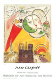Paris View Collectable Print by Marc Chagall