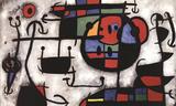 La Lecon de Sky Collectable Print by Joan Miró