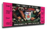 1996 Orange Bowl Mega Ticket - Nebraska Cornhuskers Stretched Canvas Print