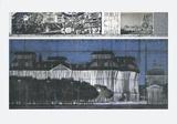 Reichstag empaqueté, projet pour Berlin Reproductions pour les collectionneurs par  Christo