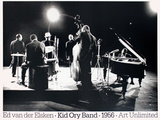 Kid Ory Band (1956) Collectable Print by Ed van der Elsken