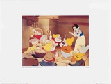 Walt Disney's Snow White and the Seven Dwarfs: Happy Leads the Orchestra Posters