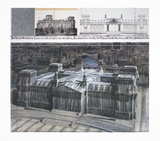 Wrapped Reichstag, Project for Berlin Collectable Print by  Christo