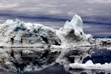 Iceberg and Pieces of Ice in Greenland Photographic Print by Françoise Gaujour