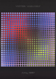 Arny Collectable Print by Victor Vasarely