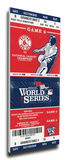 2013 World Series Mega Ticket - Boston Red Sox Stretched Canvas Print