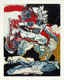 The Horseman Affiches par Karel Appel