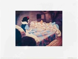 Walt Disney's Snow White and the Seven Dwarfs: Snow White Wakes Up Prints