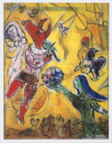 The Dance and The Circus Collectable Print by Marc Chagall